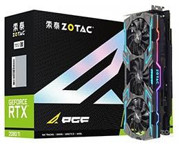 索泰GeForce RTX 2080Ti-11GD6 玩家力量至尊PGF OC14