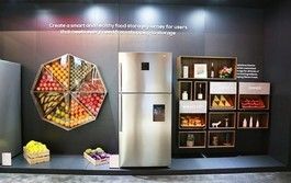TCL冰箱亮相CES2019