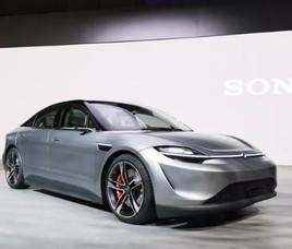 索尼Vision-S电动概念车