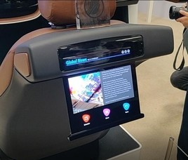 LG Display展示多形态OLED屏