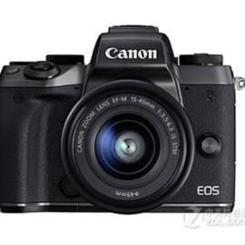 佳能微单相机M5(15-45mm)黑色618限时特惠3599包邮到家
