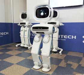 优必选双足机器人Walker