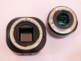 M43画幅 永诺相机低调亮相