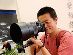 现场体验中一光学135mm f/1.4