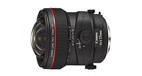 佳能TS-E 17mm f/4L