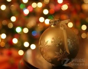 圣诞节壁纸亲情奉献