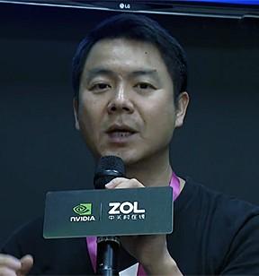 技嘉科技中国区副总经理 刘孟宗