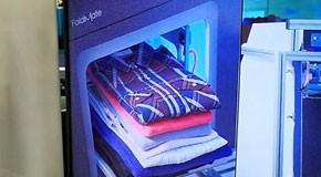 自动叠衣服机