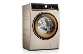 TCL免污式滚筒洗衣机 XQGM100-14508BDI