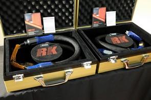 RK线材亮相上海音响展