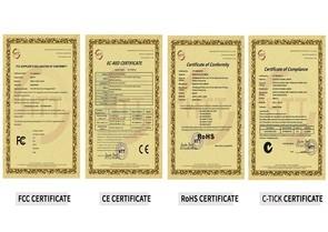 国际认证资质