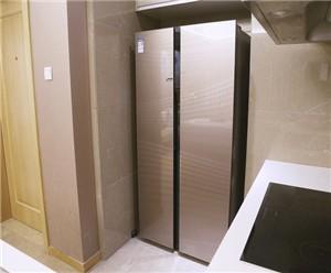 健康生活 TCL对开门冰箱评测
