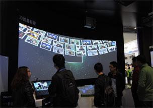 InfoComm 2015:明基展出3D弧幕影院