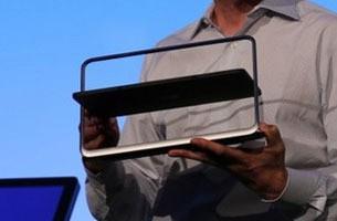 戴尔XPS Duo 12笔记本的屏幕会空翻