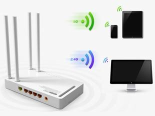 N600R支持双频段无线应用