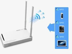 N350R支持多SSID广播