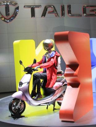 """台铃打造天津展 """"星之旅""""超豪华科技馆"""
