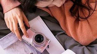粉嫩粉嫩的相机