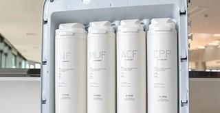NSP膜色谱双效净水技术加持