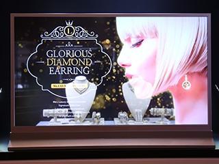 55英寸透明OLED面板