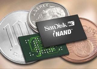 2007年闪迪推出8GB iNAND方案