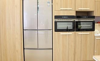 卡萨帝自由嵌入式风冰箱
