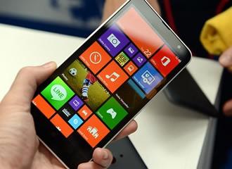 6英寸3400mAh 诺基亚Lumia1320抢先体验
