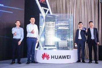 华为IP网络在上海唱响智慧之声
