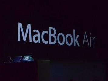 配Haswell芯 新MacBook Air全天候续航
