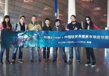 联想异能者中国玩家暴雪嘉年华远征直播