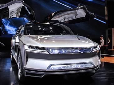 超现实主义 比亚迪E-SEED概念新车亮相