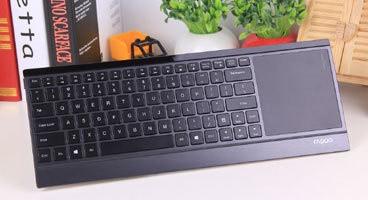 雷柏E9090p键盘美图