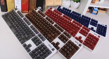 明基KX890彩色版机械键盘图赏