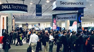 Dell和Secureworks展区