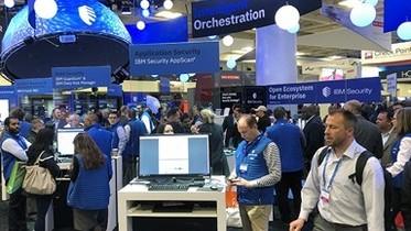 IBM安全展台