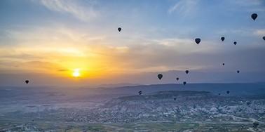 热气球是土耳其的必修课