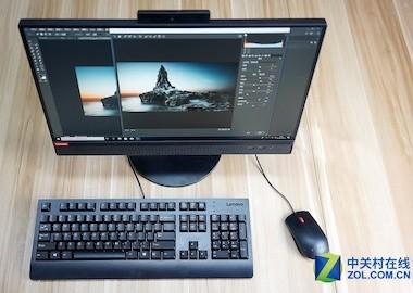 专业商务设计 联想启天A815一体电脑图赏1