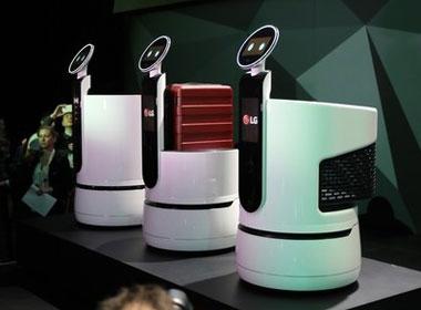 <em>7</em>LG智能机器人CLOi