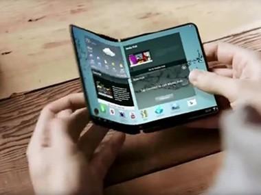 <em>新品</em>三星可折叠手机Galaxy X