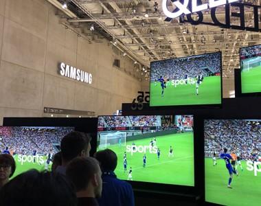 8K全尺寸段覆盖 三星电视领衔IFA视觉黑科技