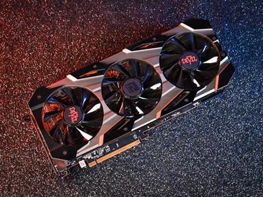 powercolor撼讯RX5700XT 8G红魔AMD显卡电脑吃鸡游戏独立显卡7nm