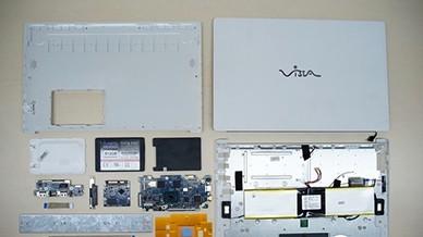 拆解拼多多visia笔记本 里面竟然塞了一个配重块?