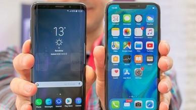 三星盖乐世S9对飚iPhone X