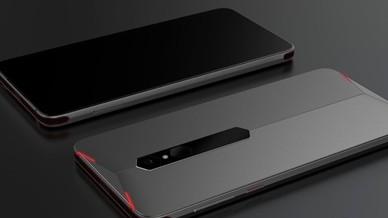 努比亚概念游戏手机亮相MWC