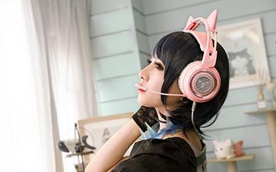 挑战最高颜值 硕美科G951 PINK耳机评测