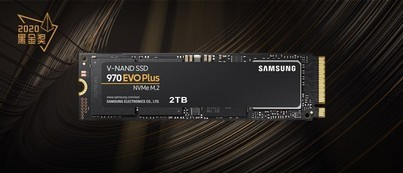 三星970 EVO Plus<br>NVMe M.2固态硬盘