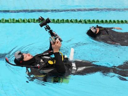 AEE特种兵S51自由潜大赛 征战水立方