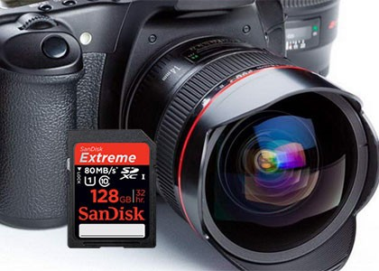 提速扩容是关键 闪迪多款高端SD卡发布