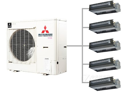 三菱重工kx6mini家用中央空调