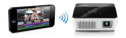 iPhone无线连投影 明基GP3新机试用